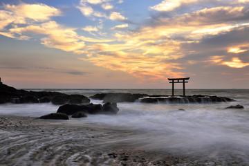 Torii Gate on the sea