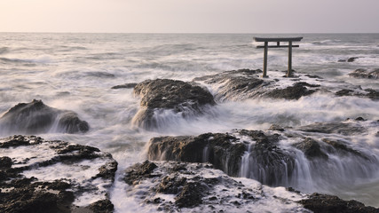 Torii Gate on the sea