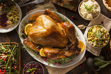 "Постер, картина, фотообои ""Whole Homemade Thanksgiving Turkey"""