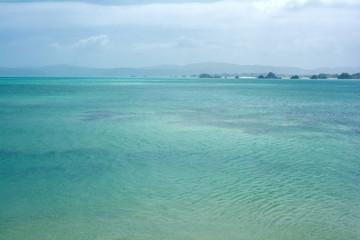 古宇利島からの海