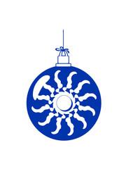 Weihnachtskugel Rad wirbel