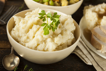 Homemade Creamy Mashed Potatoes
