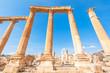 Ruins of Gerasa in the ancient Jordanian city of Jerash, Jordan