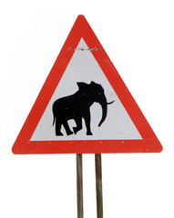 Caution Elephants