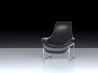 leahter chair