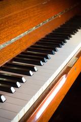 Piano keyboard,music instrument.