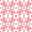 Floral seamless design pattern white texture background