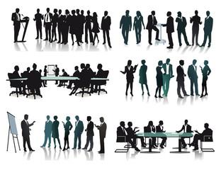 Geschäftliche  Gruppen Meetings