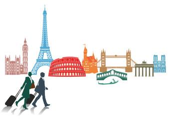 Reisen und Tourismus in Europa