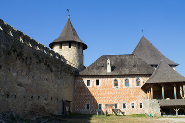 old medival castle