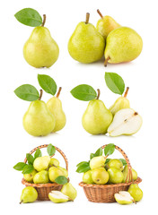 collection of 6 pear images
