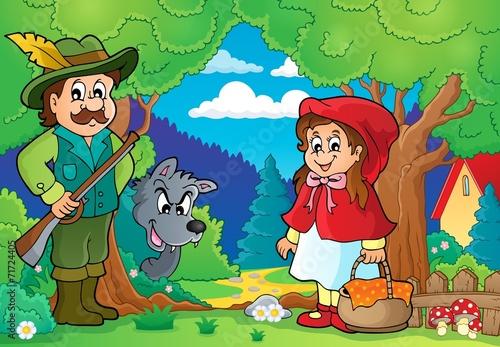 Naklejka Fairy tale theme image 2