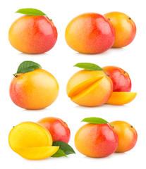 set of 6 mango images