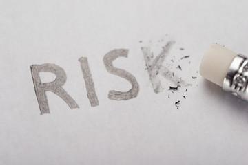 Eliminating risk concept