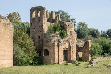 Villa di Massenzio, Carceres del circo  - Roma