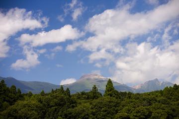 夏の那須連山