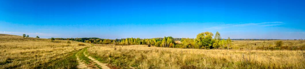 Autumn panorama.