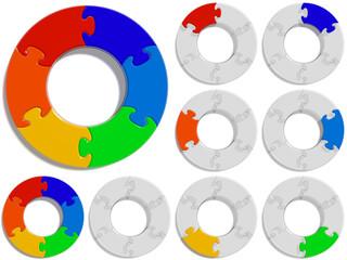 Circle Puzzle 06