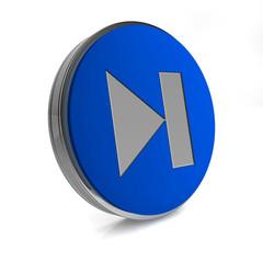 next circular icon on white background