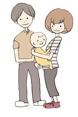 子育てする夫婦