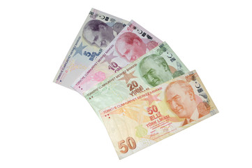turkish lira banknotes series
