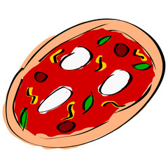 Pizza condita