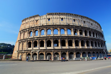 Colosseum in Roma, Italy