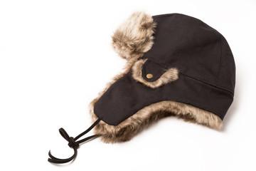 Eskimo hat isolated on white
