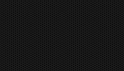 Seamless black honeycomb background