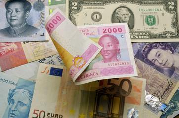 Franco CFA CFA-Franc-Zone CFAフラン CFA franc Франк КФА