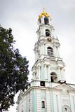 Church in Trinity Sergius Lavra. UNESCO Heritage. poster