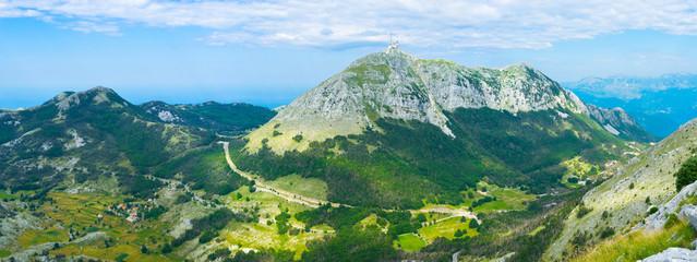 The highest peaks