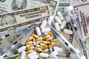 US Dollar und Medizin