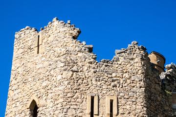 Romantic artificial ruined castle Januv hrad