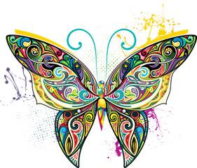 Openwork butterfly