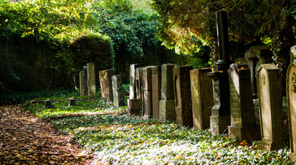 Jüdischer Friedhof in Saarbrücken