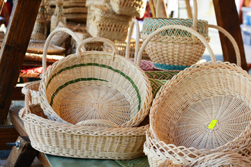 Bamboo baskets for sale