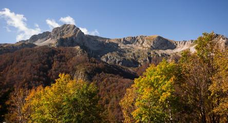 Autunno al Monte Terminillo, Lazio