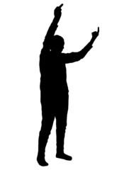 Handzeichen Mittelfinger