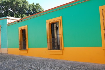メキシコの町