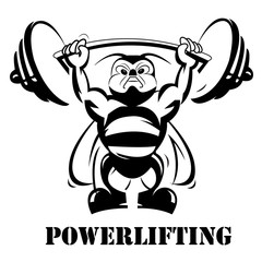 Powerlifting concept