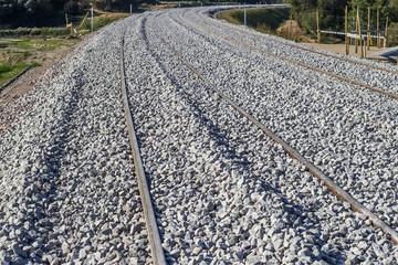 Concrete railway sleepers