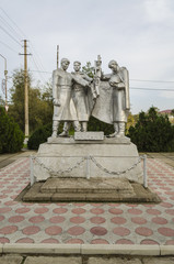 monument to soldiers liberators