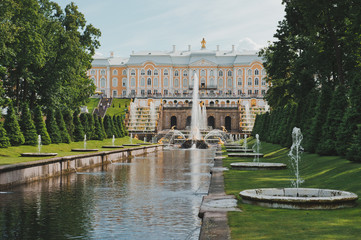 Peterhof, Sea channel 1143.
