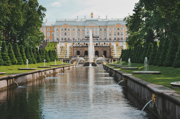 Peterhof, Sea channel 1145.