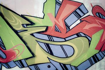 Détail de graffiti