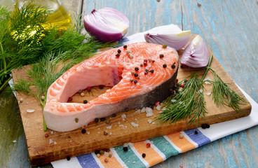 Salmon stake