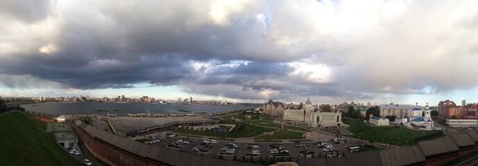 psnoramic view of Kazan