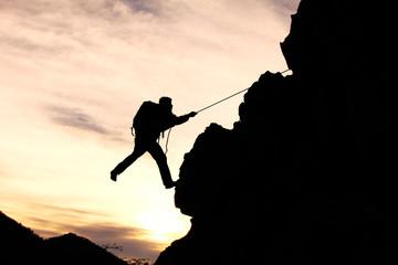başarı ve azimle tırmanmak