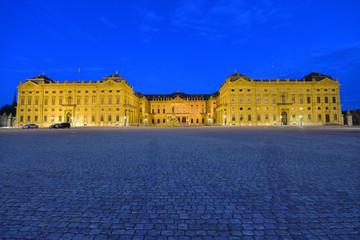 Würzburger Residenz, Weltkulturerbe, Ehrenhof, Bayern